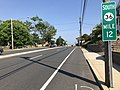 2018-05-25 15 55 22 View south along New Jersey State Route 36 (Navesink Avenue) between Miller Street and Monmouth County Route 5 (Bay Avenue) in Highlands, Monmouth County, New Jersey.jpg