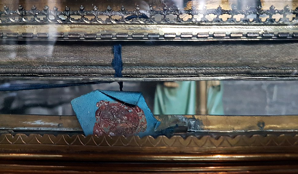 2018 Maastricht Heiligdomsvaart, reliekentoning Onze-Lieve-Vrouwebasiliek, voorbereiding 15