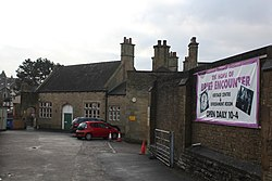 2018 at Carnforth station - down side forecourt.JPG