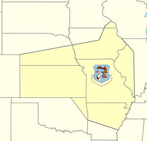 20th Air Division - 20th Air Division ADC AOR 1955–1960