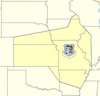 20th Air Division - 20th Air Division ADC AOR 1955–1960