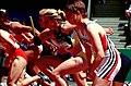 261000 - Athletics track Meaghan Starr action - 3b - 2000 Sydney race photo.jpg