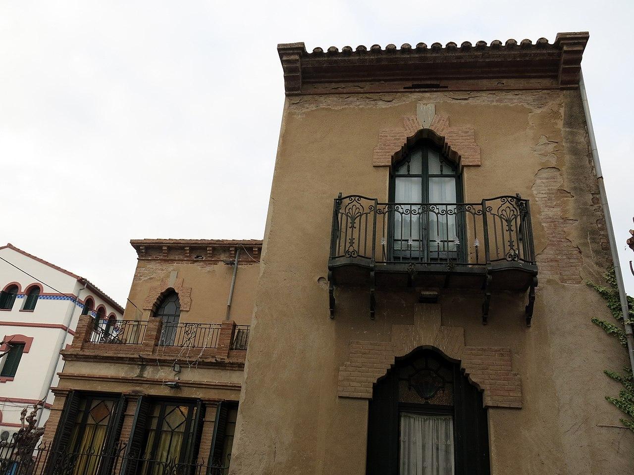 File 264 casa esteve mallol fa ana c doma la garriga jpg wikimedia commons - Casa la garriga ...
