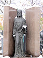 281012 Sculpture at Wilanów Cemetery - 04.jpg