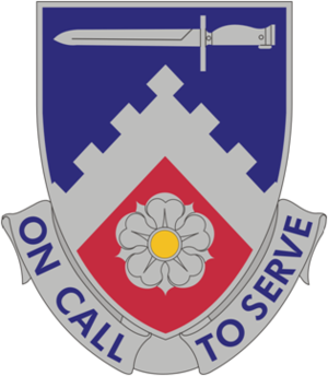 299th Brigade Support Battalion (United States) - Image: 299 Spt Bn DUI