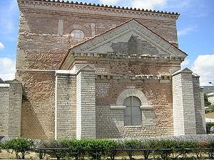 Baptistère Saint-Jean - Northern façade.