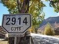 318国道2914公里牌 - 2914km Marker of National Highway 318 - 2012.10 - panoramio.jpg