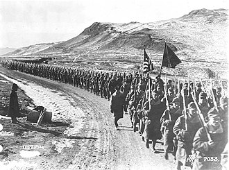 31st Infantry Regiment (United States) - 31st Infantry in the field near Vladivostok as part of the American Expeditionary Force Siberia