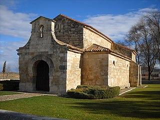 Church of San Juan Bautista, Baños de Cerrato Medieval church in Baños de Cerrato, Spain