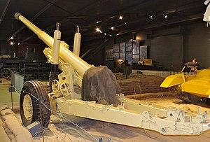 BL 4.5-inch Medium Field Gun - Gun at Imperial War Museum Duxford