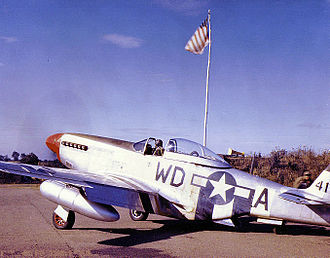 4th Fighter Group - P-51D Mustang of the 336th Fighter Squadron, 4th Fighter Group