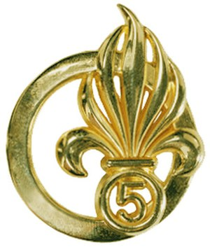 5th Foreign Infantry Regiment - Image: 5° REI béret Type 2