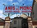 51 Fàbrica d'Anís del Mono (Badalona), entrada a la destil·leria, av. Eduard Maristany 115.jpg