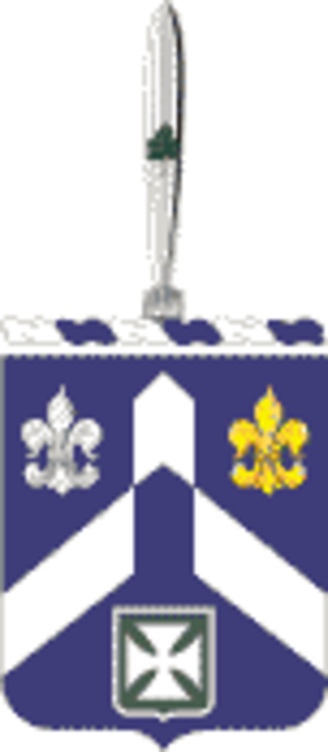 58th Infantry Regiment (United States) - Coat of arms