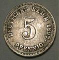 5 pfennig 1897 reverse.jpg