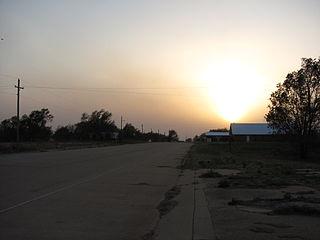 Texola, Oklahoma Town in Oklahoma, United States
