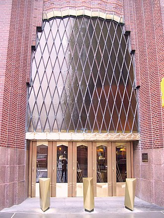 Ralph Thomas Walker - Entrance to 60 Hudson Street