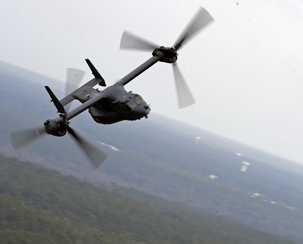 8th Special Operations Squadron - CV-22 Osprey - 2011