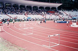 1977 Central American and Caribbean Championships in Athletics - Host venue in Xalapa.
