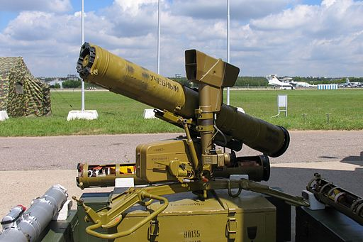 9P135 Fagot missile launcher at Engineering Technologies 2012