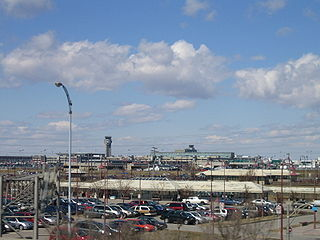 Dorval City in Quebec, Canada