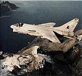 A-7E Corsair II of VA-37 over Norway in 1988.jpg