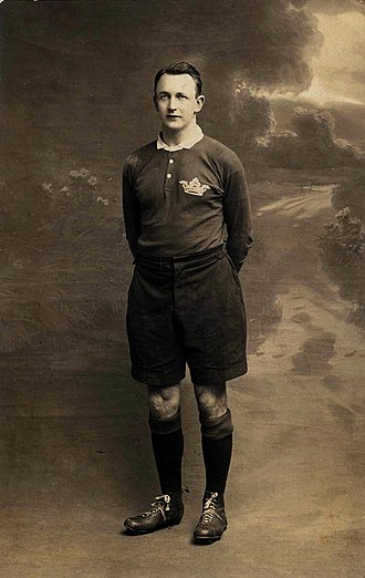 1927–28 Waratahs tour of the British Isles, France and Canada - Johnnie Wallace   Captain of the tour