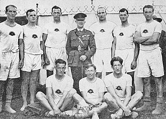 King's Cup (rowing) - Image: AIF1crew 1919