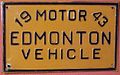 ALBERTA, EDMONTON 1943 -EDMONTON VEHICLE LICENSE PLATE - Flickr - woody1778a.jpg