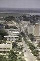 ASC Leiden - F. van der Kraaij Collection - 05 - 018 - A close up from the upper floor of the Ducor Hotel - Monrovia, Mamba Point, Montserrado, Liberia, 1975.tif