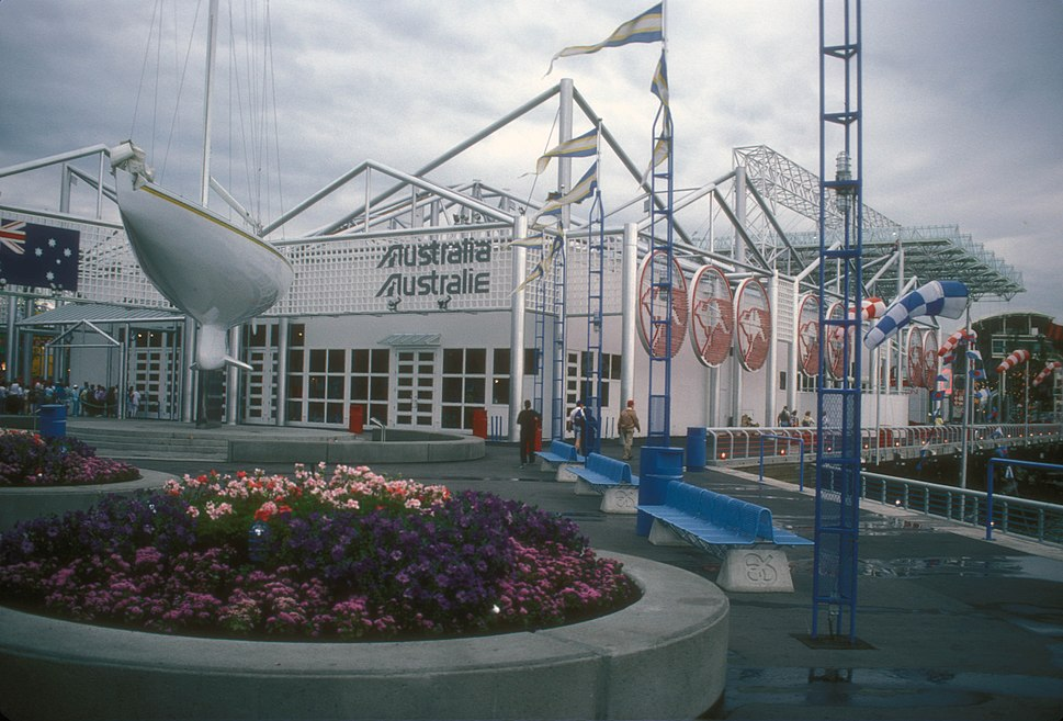 AUSTRALIAN PAVILION AT EXPO 86, VANCOUVER, B.C.