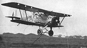 Armstrong Whitworth Atlas - Atlas picking up a message