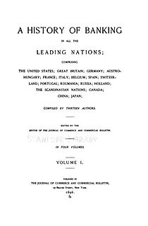 <i>A History of Banking in all the Leading Nations</i>