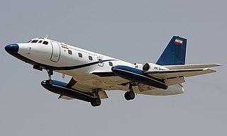 Lockheed JetStar executive transport jet