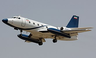 Lockheed JetStar - An Islamic Republic of Iran Air Force JetStar in service with Government of Iran