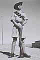 A MEMBER OF THE JEWISH SETTLEMENTS POLICE, UNDER THE COMMAND OF THE BRITISH POLICE IN PALESTINE. שוטר המשרת במשטרת היישוב היהודי, הכפופה למשטרה הבריטיD819-014.jpg