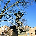 A Statue In The Old London Road, Kingston-upon-Thames - London. (15950610486).jpg