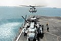 A Super Stallion takes off from USS San Antonio. (8693524564).jpg