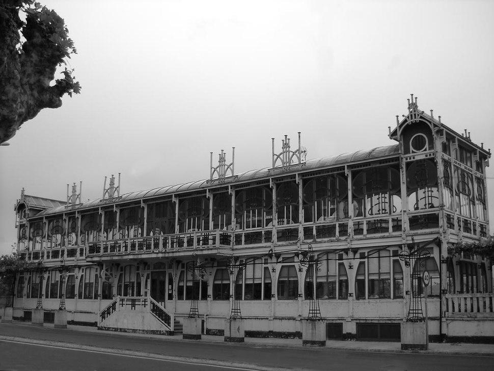 A Terraza, Sada, fachada dianteira