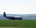 A U.S. Air Force C-130J Super Hercules aircraft arrives at Campia Turzii, Romania, April 8, 2014 140408-F-ND912-055.jpg