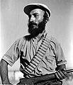 "A YEMENITE ""HAGANA"" MEMBER ON GUARD DUTY AT MOSHAV ELYASHIV. שומר תימני של ארגון ההגנה במושב אלישיב.D403-126.jpg"