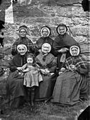 A group of women from Ysbyty Ifan almshouses NLW3361781.jpg