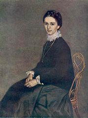 Portrait of Ninon Szinyei Merse