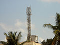 A mobile communication tower in Kakinada.jpg