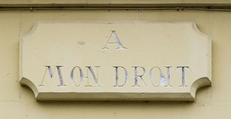 File:A mon Droit Saintes Charente-Maritime.jpg
