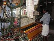 A photo on power loom