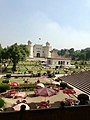 A view of Lahore Fort from Badshahi Mosque.jpg