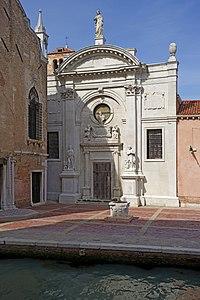 Chiesa dell 39 abbazia della misericordia wikipedia for Scuola sansovino venezia