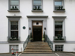 Coming Up to Breathe - Abbey Road Studios, where the strings on the album were recorded.