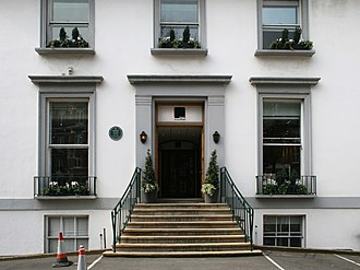 The Beatles - Main entrance at Abbey Road Studios